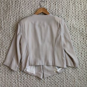 Final Touch Jackets & Coats - 3 for $25 SALE Cream Beige Slightly Cropped Blazer